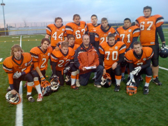 2008 Seniors at the last game
