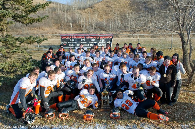 2011 Peace Bowl Champions on Game Day